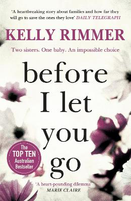 Before I Let You Go: A gripping novel about the unbreakable bond between sisters by Kelly Rimmer