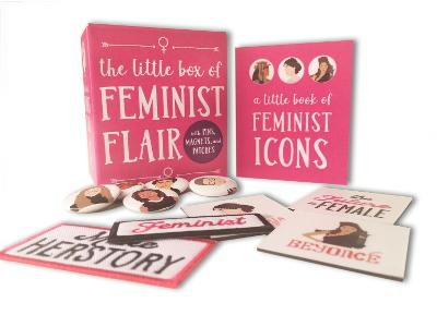 The Little Box of Feminist Flair: With Pins, Patches, & Magnets by Lauren Mancuso
