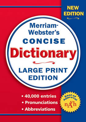 Merriam-Webster's Concise Dictionary book