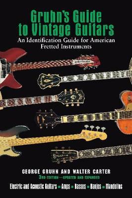 Gruhn's Guide to Vintage Guitars book