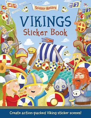 Vikings Sticker Book by Joshua George