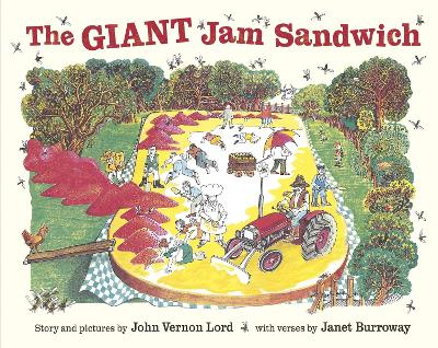 Giant Jam Sandwich by John Vernon Lord