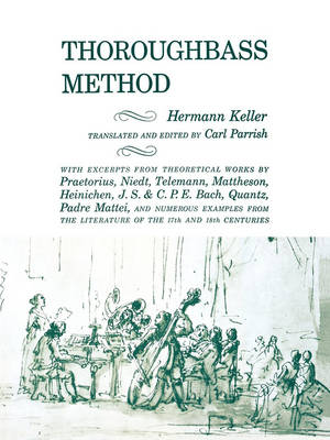 Thoroughbass Method by Hermann Keller