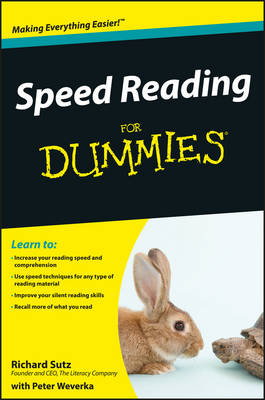 Speed Reading for Dummies book