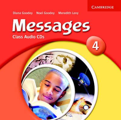 Messages 4 Class Audio CDs book