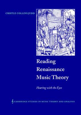 Reading Renaissance Music Theory book