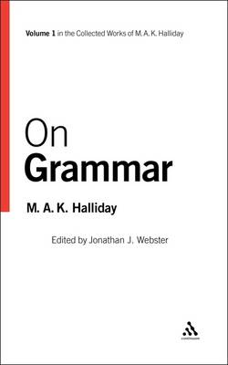 On Grammar by M. A. K. Halliday
