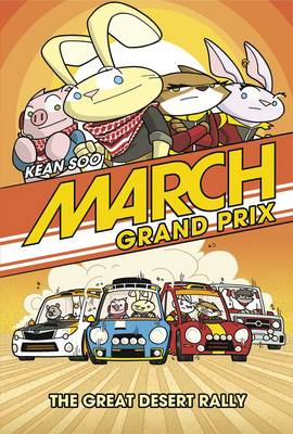March Grand Prix: The Great Desert Rally by Kean Soo