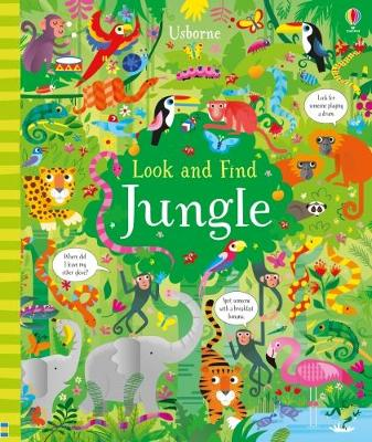Look and Find Jungle by Kirsteen Robson
