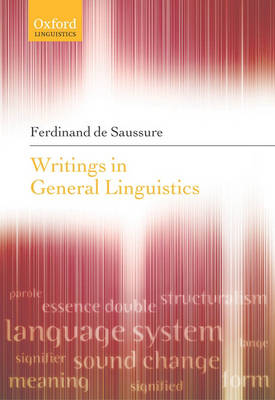 Writings in General Linguistics by Ferdinand de Saussure