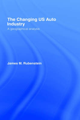 Changing U.S. Auto Industry book