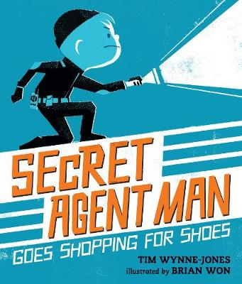Secret Agent Man Goes Shopping for Shoes by Brian Won