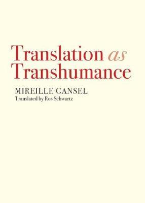 Translation as Transhumance book