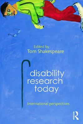 Disability Research Today by Tom Shakespeare