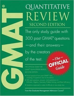 GMAT Quantitative Review by Graduate Management Admission Council (GMAC)