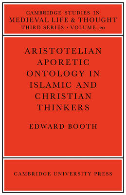 Aristotelian Aporetic Ontology in Islamic and Christian Thinkers book