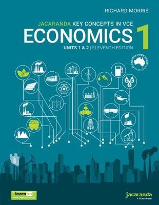 Jacaranda Key Concepts in VCE Economics 1 Units 1 and 2 book