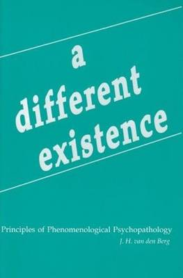 Different Existence book