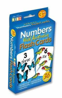 Numbers Flashcards by Steve Parish