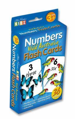Numbers Flashcards by Steve Parish