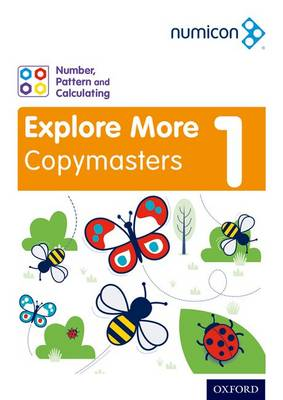 Numicon: Number, Pattern and Calculating 1 Explore More Copymasters book