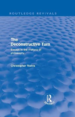 Deconstructive Turn book