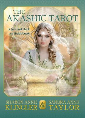 The Akashic Tarot: A 62-Card Deck and Guidebook by Sharon Anne Klingler