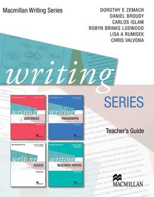 Writing Series Teacher's Guide by Dorothy Zemach