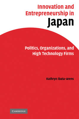 Innovation and Entrepreneurship in Japan book