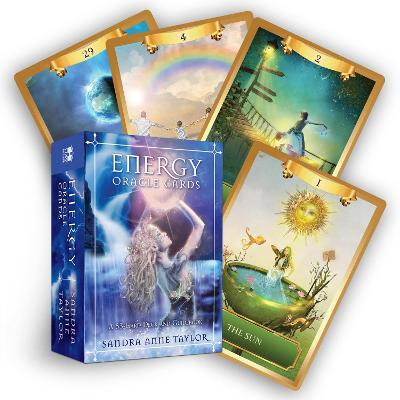 Energy Oracle Cards: A 53-Card Deck and Guidebook by Sandra Anne Taylor
