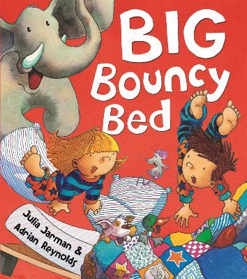 Big Bouncy Bed by Adrian Reynolds