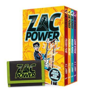 Zac Power Cash Stasher by H. I. Larry