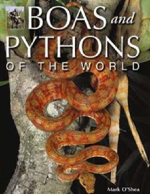 Boas and Pythons of the World by Mark O'Shea