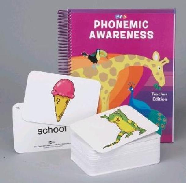 Phonemic Awareness Materials Kit (pre K - K: includes Sound Cards and Teacher's Edition) book
