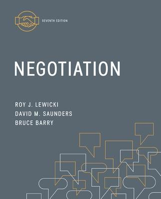 Negotiation by Roy J. Lewicki