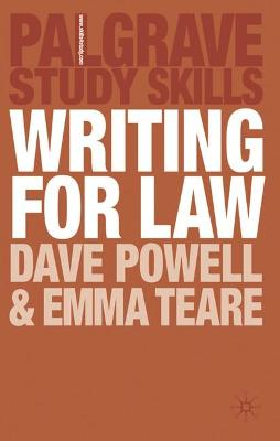 Writing for Law by Dave Powell