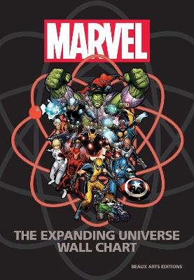 Marvel: The Expanding Universe Wall Chart by Michael Mallory