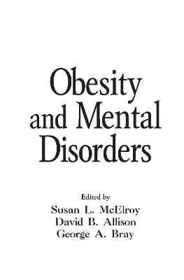 Obesity and Mental Illness book