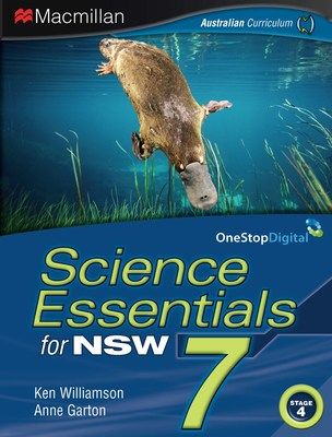 Science Essentials 7 for NSW book