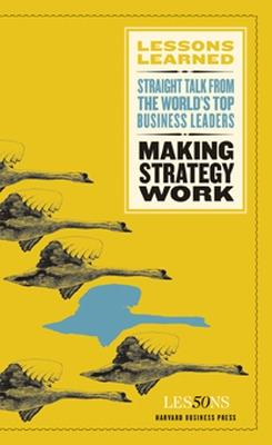 Making Strategy Work book
