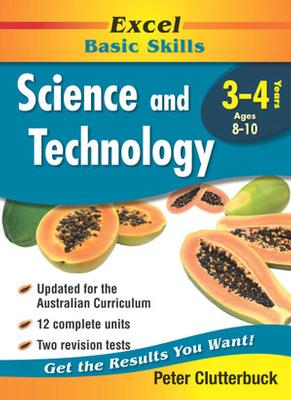 Excel Science & Technology: Years 3-4: Year 3-4 book