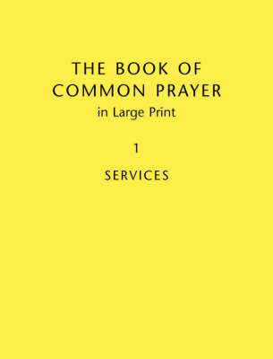 Book Of Common Prayer Large Print BCP481: Volume 1 book