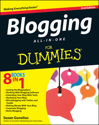 Blogging All-in-One For Dummies book