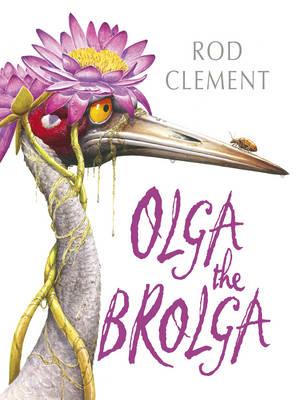 Olga The Brolga by Rod Clement