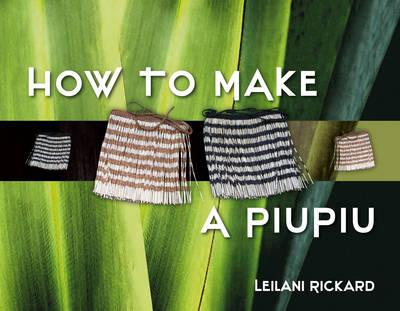 How to Make a Piupiu book