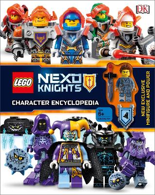 LEGO NEXO KNIGHTS Character Encyclopedia: Includes Exclusive Clay Minifigure by DK