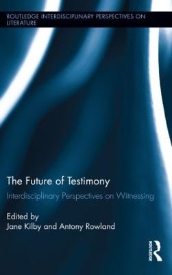 Future of Testimony book
