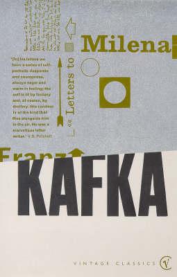 Letters To Milena by Franz Kafka