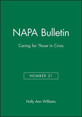 Caring for Those in Crisis book