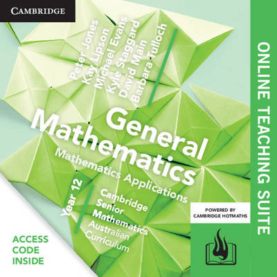 CSM AC General Mathematics Year 12 Online Teaching Suite (Card) by Peter Jones
